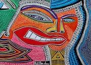 Israeli artist modern authentic paintings. Mirit Ben-Nun