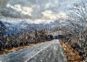 Mountain Road. Karine Andriasyan
