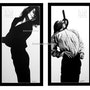 Fabulous Robert Longo Men In Cities Hand Signed Limited Edition Set, last one!. Americaartgallery