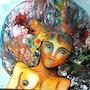 Explosion de couleurs. Manolis