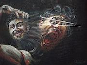 Emotional distress. Argishti Mesropyan