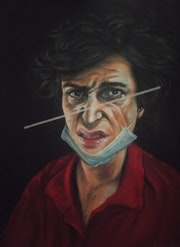 A man in a red short. Argishti Mesropyan