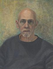 Self-Portrait (Expressionistic). Neal Farncroft