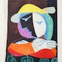 Pablo Picasso Femme au Balcon Hand Signed Limited Edition with coa. Americaartgallery