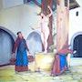 Le puit peinture à l'huile sur toile de 60 X 50 cm. Prost's Art