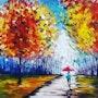 باران در پاييز. Gozar Art Group