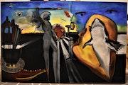 Peinture abstrait L'art et la technologie.