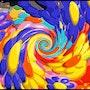 Flower Power Swirl.