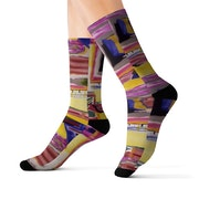 «Not Shy«Sock Collection. Eleanor Wolper