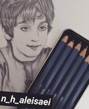 بورترية - Portrait. Huda Alghaithi