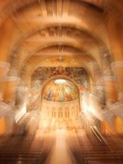 Porte du Paradis Dôme Basilique de Lisieux. Samira Kehil