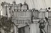 Edinburgh castle Scotland. Christopher Anderson