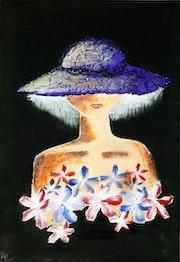 Purple Hat. Alaa Karam