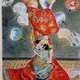Ma Japonaise… Hommage à Monet. Skr