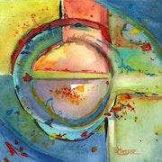 Peinture-Aquarelle-Abstrait-COSMOS.