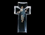 The Ascent Jesus Sculpture by Christopher Pardell. Esculpture