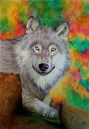Le loup. L'atelier d'alexandra
