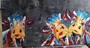 Vaches. Fabienne Dequidt
