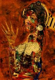 29- Estrella Morente. Collagemania.. Carmen Luna