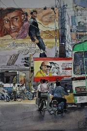 Fin d'après midi à Mysore.