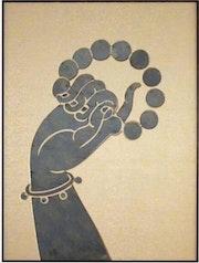 Beads in hand. Simran Daga