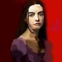 Mujer neoclásico. J. David