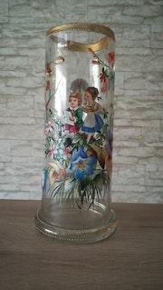 Glaszierkrug, Böhmen oder Schlesien ? ? ? , Um 1880-90.. Glaskunstgalerie Raphael