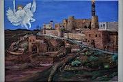 Iwardo Aramaic village Painting by joky kamo.