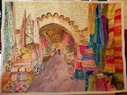 Voyage à Marrakech. Isabelle Cabot