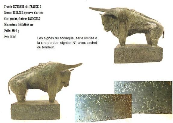 Signe du zodiaque, Taureau. Franck L Espace Les Noisetiers -La Cavalerie-