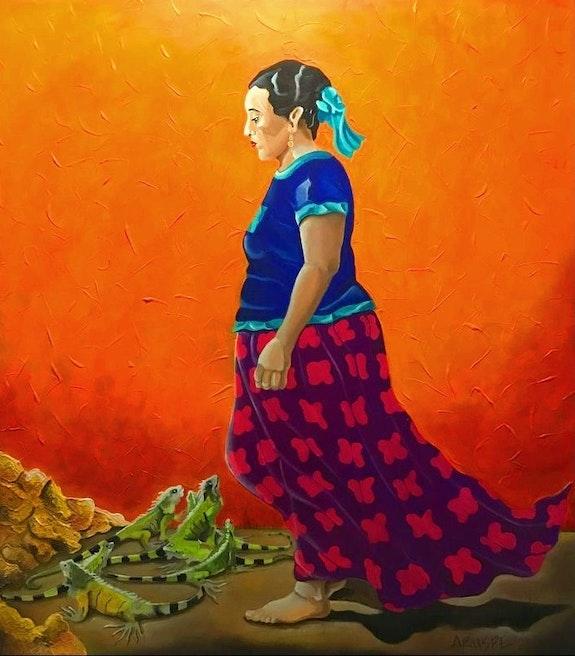 El iguanario. Alfredo Aruspe Aruspe.