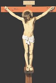 Cristo de Velazquez. Copia digital. Damián Montesinos