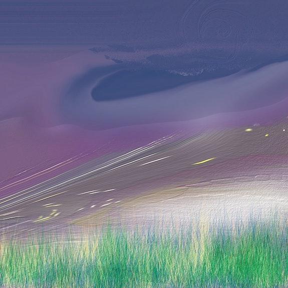 Paisaje desde un planeta lejano. Juan M. Cuevas Damián Montesinos