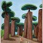 Baobabs. Jean Michel Cayla