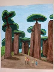Baobabs.