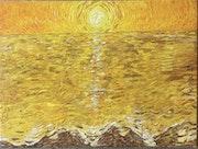 «Paysage jaune iii», 2021.