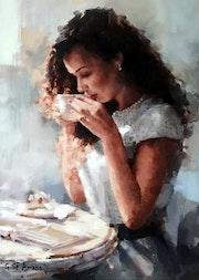 Coffee Time. Gilbert De St Amans