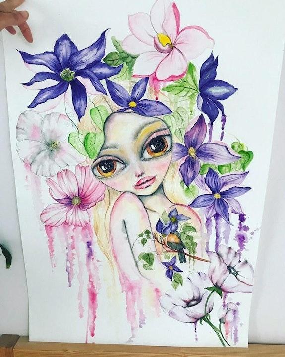 Magnolia. Anna Polish Artist