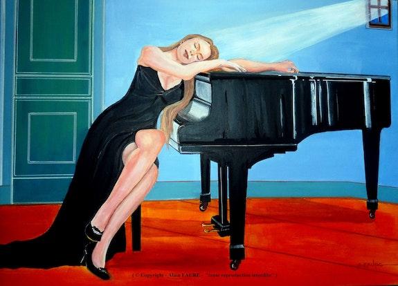 Sieste musicale. Alain Faure Alain Faure En Peinture