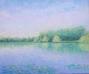 Lueurs du jour sur la Loire. Cécilia M.