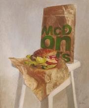 Still life with Big Mac. Lea Laboy