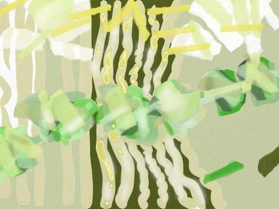 Arbre, forêt lumineuse. Céline Parent Celine Parent