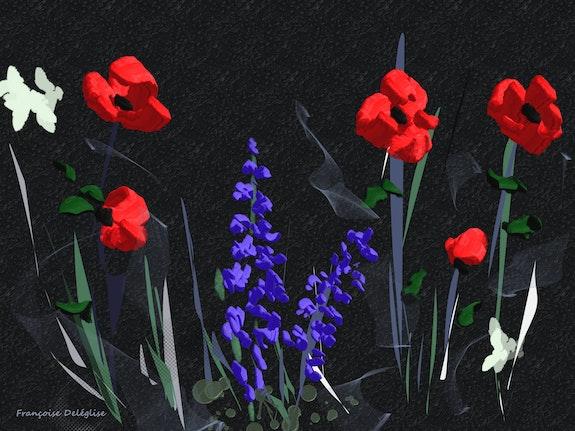 Fleurs des champs. Françoise Deléglise Françoise Deléglise