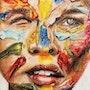 زخم رنگ. Gozar Art Group