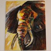 Elephant. Celine Caillau Petit