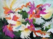 Floraison. Lise Buissart