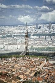 La tour transparente.