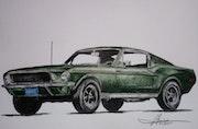 Mustang. Yves Briais