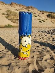 Marge on the beach. Le Roi