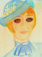 A Smile In Blue.. Ann-Evelyn Hansen